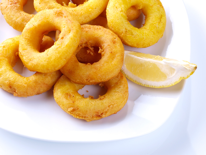 Calamares frittiert
